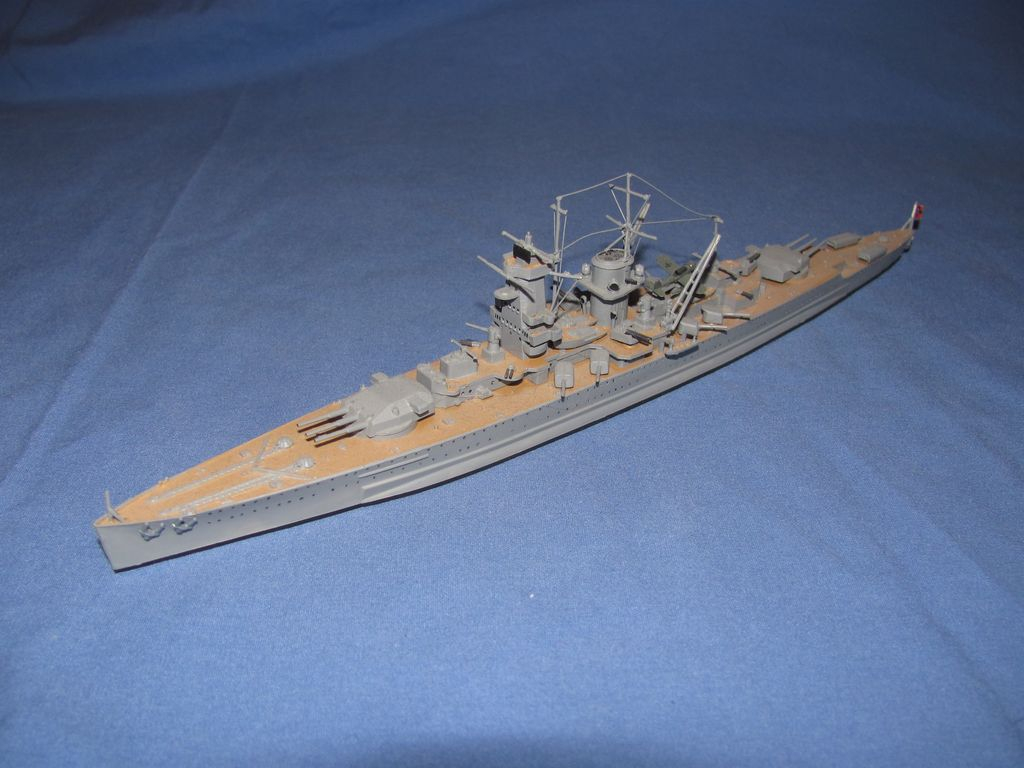 1/700 German Pocket Battleship Graf Spee $10