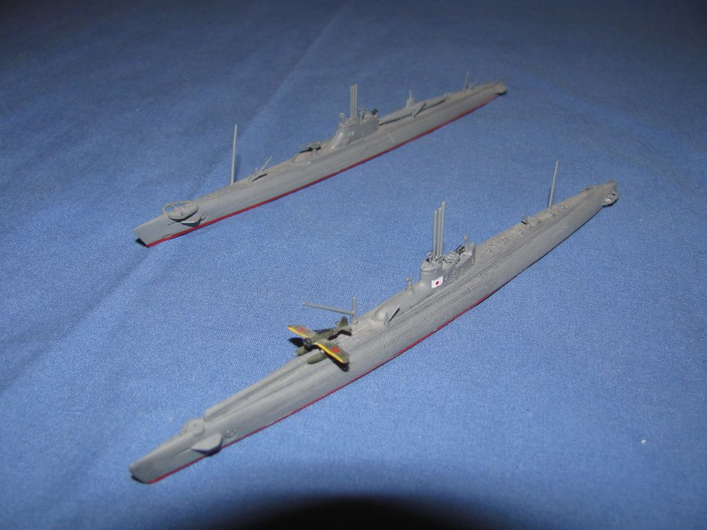 1/700 Japanese Submarines $5 for both