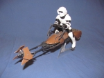 1/12 Speed Bike with Scour Trooper $25