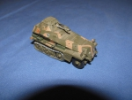 1/72 German Armored Halftrack $3